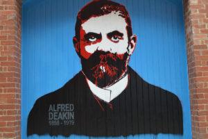 Alfred Deakin mural
