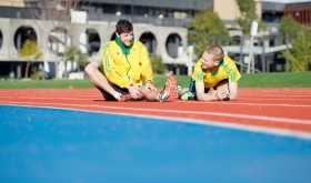 Deakin Olympic walkers on track