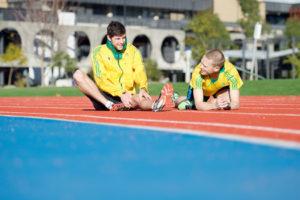Deakin Olympic walkers on track