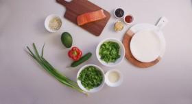 Salmon recipe ingredients