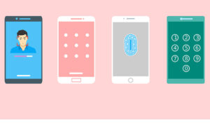 various mobile identification and lock screens