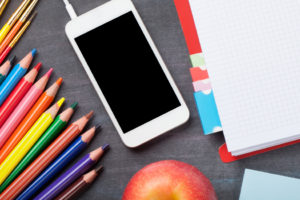iPhone and pencils