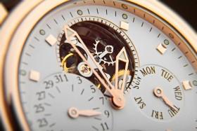Close up of a luxury wrist watch