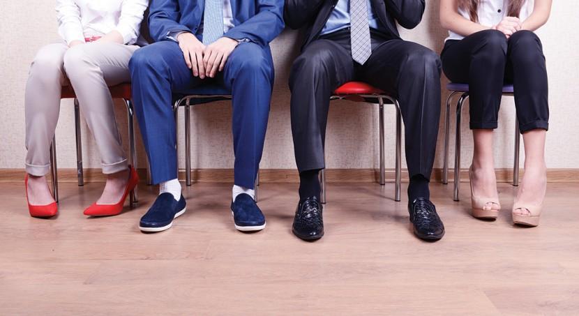 job interview waiting