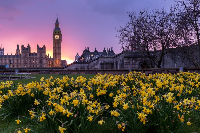 London, Palace of Westminster and Big Ben