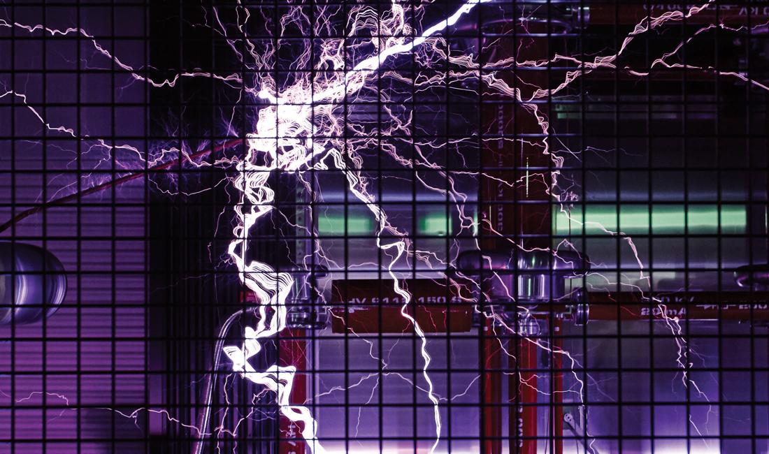 Deakin University high voltage lab
