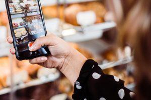 iPhone photo of food