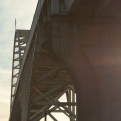 Image of a bridge taken from below