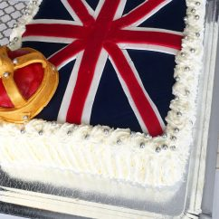 british flag cake