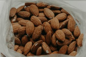 Bag of almonds