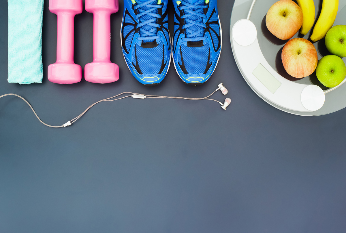 Healthy diet and exercise equipment