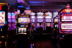 Pokie machines in a casino